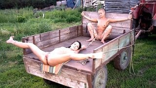 Steve Holmes  Sabrina Sweet  Cj in Farm Slaves From Budapest - SexAndSubmission