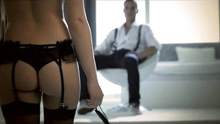 Waiting For Pleasure (upgrade) blindfold in stockings