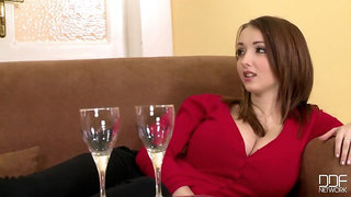 Lucie Wilde is addicted to good doggy style sex