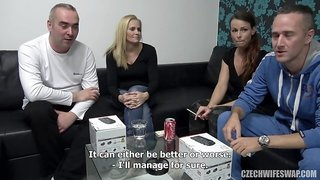 Splendid Housewifes in Wife Swap Sex