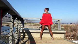 Tanned and Sultry Fitness Mom Toni Andra 1