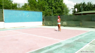 Tainster - Tennis Court Pounding
