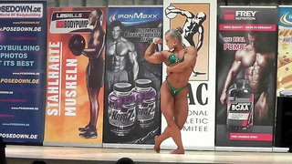 muscle fbb flex biceps quads calves show strength