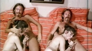 Horny Dude Is Gonna Join To Wild Sex Orgy In Bedroom