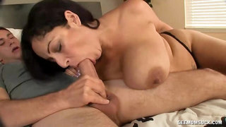 Hot Mother Wants Seed On Her Big Juggs
