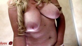 Horny Mom Ann At A Public Shower