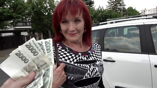Mrs Irena loves money and cocks