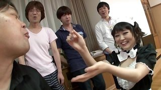 Naughty Adventures Of Japanese Waitress