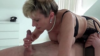 Adulterous british milf lady sonia exposes her giant balloons