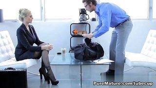 Julia Ann in Pleasure Before Business - PureMature Video