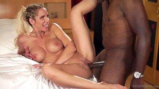 Mandingo's Legendary Penis  Nadia North Takes On The Biggest Black Cocks In Porn
