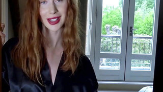 Pale Redhead MILF Staying Home Fucks Her Ex from Your POV