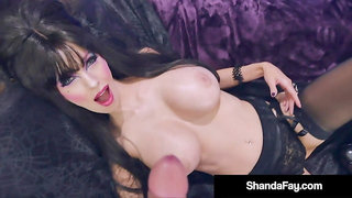 Busty Housewife Shanda Fay In Gothic Cosplay While Fucking!