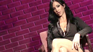penthouse mommy jewels jade masturbates at work gets caught & fucked