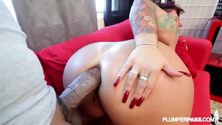 BBC aggressive rough anal dirty talking pawg