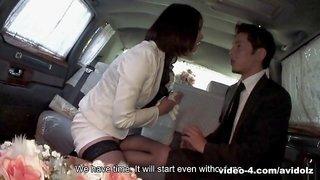 Tsubaki in Tsubaki sucks her limo driver - AviDolz