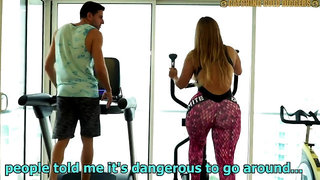 Raunchy Sex With A Big Arse Gym Bitch