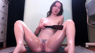 Hot Oiled Up Anal Play - Teaser