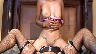 Ebony lesbos lick and toy fuck tight cunts