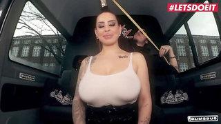 Letsdoeit - Huge Boobs German Mom Gets Fucked In The Sex Bus