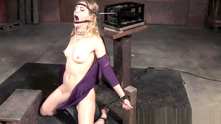 Restrained sub drooling on maledoms cocks