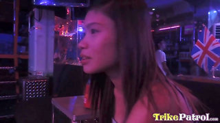 Naughty Filipina bar girl Ella hooks up with foreign guest