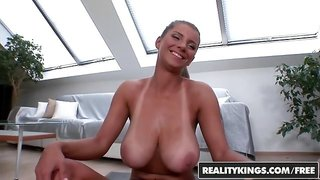 RealityKings - Big Naturals - Fitness Duo starring David and