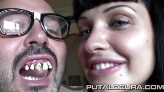 Ugly Spanish dude screwing Hungarian bitch Aletta Ocean