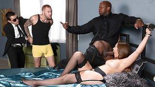 Dani Daniels & Prince Yashua in Handcuffed Housewife - Brazzers