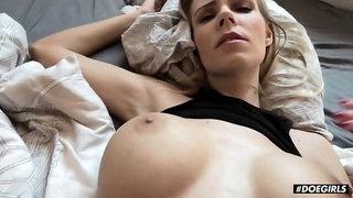 Florane Russell Busty Czech Babe Intense Sex Tape With Her Boyfriend POV