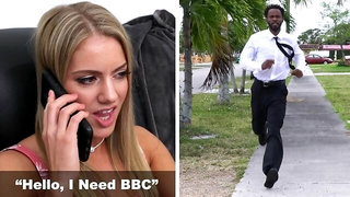 BANGBROS - Young Babe Candice Dare Cures Her Broken Heart With BBC