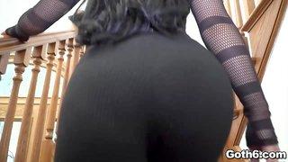 Gina Valentina POV fucked hard on a couch