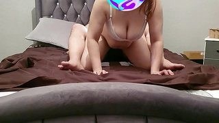 Step mom tricked into fuck by Horny Step Son at a hotel
