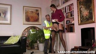 Tall Slut Gets Fucked