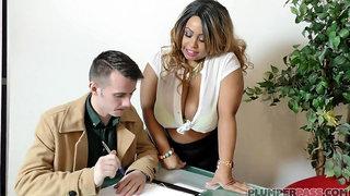 Busty Tits Ebony Mother I´d Like To Fuck - shanice richards