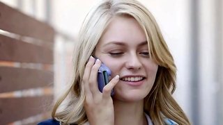 Preppy blonde girl Alli Rae has her first interracial experience