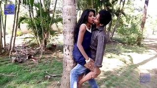 Desi Babe kissing