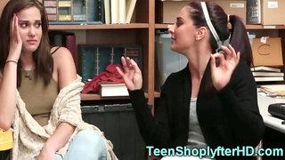 Shoplifting teens fucked