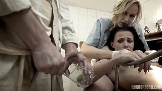 Very Hot Dentist Angel Wicky and Nicole Love Horror Porn Fantasy