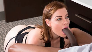 Hot-looking natural MILF Sovereign Syre knows that black cocks matter