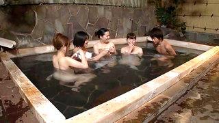 Naughty Behavior In Japanese Onsen Spa 3