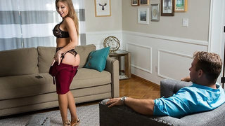 Britney Amber Gets Fucked By Her Husband's Bully