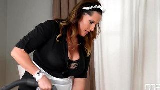 Hotel Guest Seduces Busty Maid Laura Orsolya And Fucks Her Big Tits & Pussy Gp966