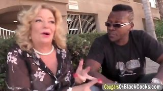 Karen Summer Interracial sex whit a big cock