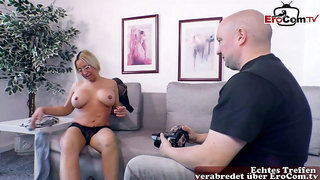 german blonde big boobs housewife with glasses fuck from her photograf