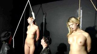 Skinny teens BDSM hot porn video