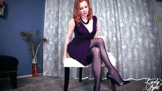 Therapist deconstructs your gam fetish Lady Fyre female dominance