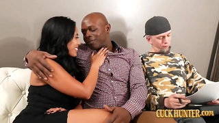 Latina Mom Fucks Black Knob for Creampie before Divorce