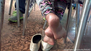 Fantastic Indian bare soles dipping CC132