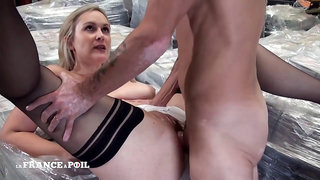 Mature french milf in warehouse xxx xxx dream